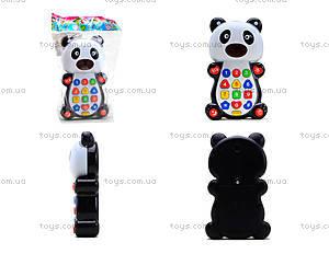 Детский развивающий телефон «Панда», 8301D