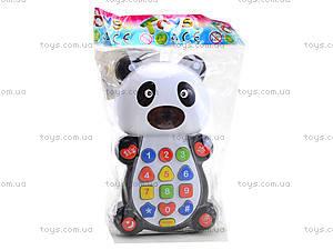 Детский развивающий телефон «Панда», 8301D, отзывы