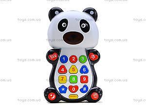 Детский развивающий телефон «Панда», 8301D, цена