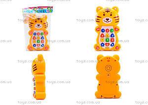 Детский развивающий телефон «Тигрёнок», 8303D