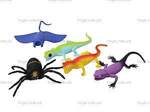 Рептилии-тянучки «Гонконг», 5 штук, A052P, отзывы