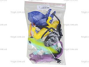 Рептилии-тянучки «Гонконг», 5 штук, A052P, цена