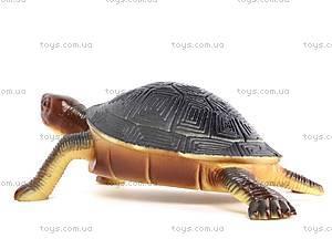 Резиновая черепаха с пищалкой, H9913W, toys.com.ua