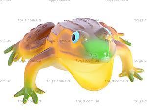 Резиновая лягушка с пищалкой, H9804W, магазин игрушек