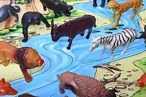 Резиновые игрушки «Дикие животные», HB981020-1, цена