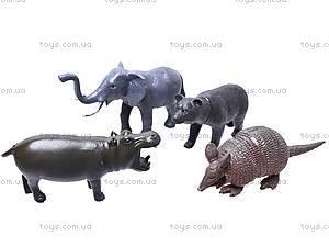 Резиновые игрушки «Дикие животные», HB981020-1, игрушки