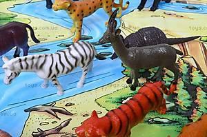 Резиновые игрушки «Дикие животные», HB981020-1, детские игрушки