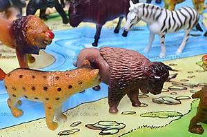 Резиновые игрушки «Дикие животные», HB981020-1, іграшки
