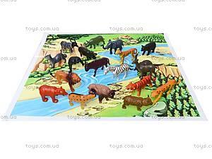 Резиновые игрушки «Дикие животные», HB981020-1, детский
