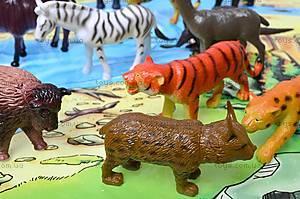 Резиновые игрушки «Дикие животные», HB981020-1, Украина