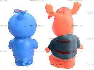 Резиновые животные-пищалки, 1204, игрушки