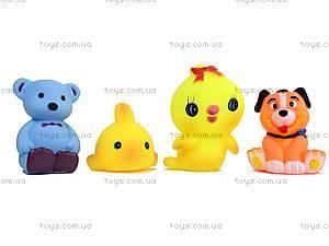 Резиновые пищалки «Животные», C4-345B8, іграшки