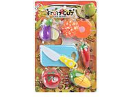 Набор для игры «Резка овощей и фруктов», 60076008