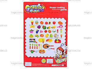 Детский набор для резки овощей и фруктов, 735-3, фото