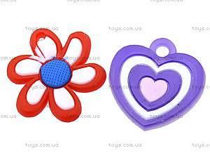 Резинки для плетения «Цветок», D1-2098-24, игрушки