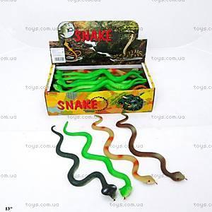 Резиновая игрушка «Змея», 13см, H628