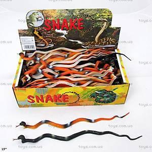 Резиновая игрушка «Змея», 15см, H803
