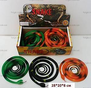 Резиновая игрушка «Змея» 70см, H387