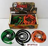 Резиновая игрушка «Змея» 70см, H387, отзывы