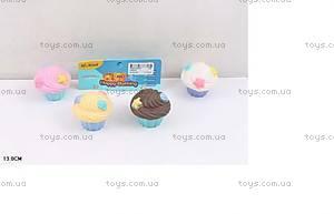 Резиновые пироженки-пищалки для ванной, HS6302
