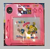 Рисовальная доска, с печатями и часами, 2117, детские игрушки