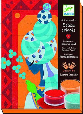 Рисование цветным песком «Голубые принцессы», DJ08637
