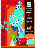 Рисование цветным песком «Голубые принцессы», DJ08637, отзывы