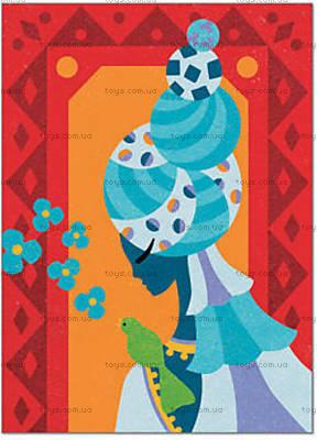 Рисование цветным песком «Голубые принцессы», DJ08637, купить