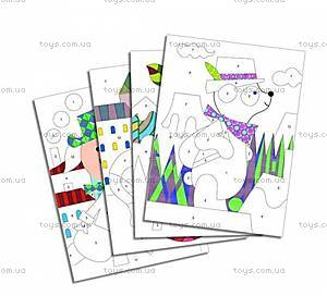 Рисование цветным песком «Панда и его друзья», DJ08630, отзывы
