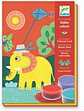 Рисование цветным песком «Прогулка», DJ08660, купить