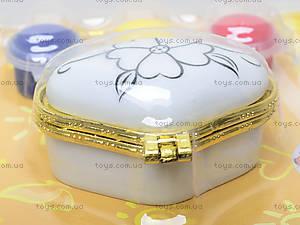 Рисование по керамике «Мини-шкатулка», 94169, купить