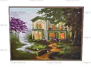 Рисование по номерам из серии «Загородный дом», MGшк40928, отзывы