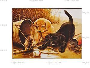 Рисование по номерам серии «Животные и птицы», MGшк40911, фото