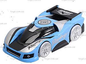 Машина на радиоуправлении Wall Racer Climber, ездит по стенам, 114455-LB, игрушки