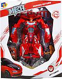 Робот «Красный спорткар», D622-E267