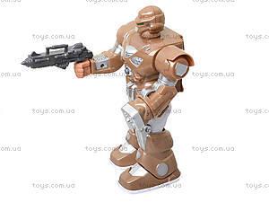 Шагающий робот «Кибер Герои» со звуком, светом, 7M-409, купить