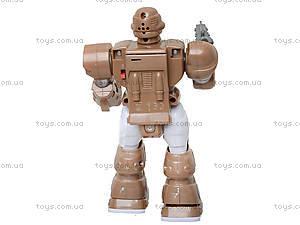 Шагающий робот «Кибер Герои» со звуком, светом, 7M-409, фото
