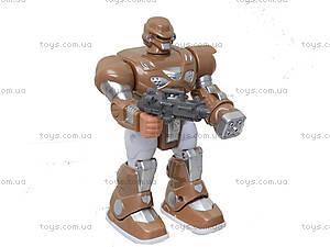 Шагающий робот «Кибер Герои» со звуком, светом, 7M-409, цена