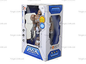 Шагающий робот «Кибер Герои» со звуком, светом, 7M-409, игрушки