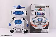Робот музыкальный вращающийся, 99444-2, оптом