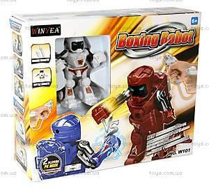 Робот на инфракрасном управлении Boxing Robot, белый, W101w, фото