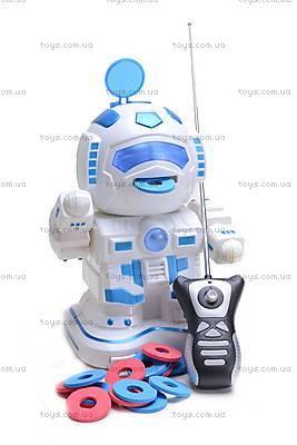 Робот с дисками, на управлении, TT333, фото