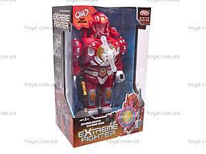 Робот с оружием Extreme Fighter, 797-138, игрушки