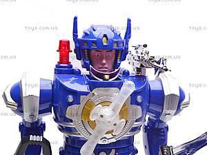 Робот с оружием Super Warrior, 797-132, цена