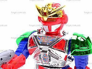 Робот, со звуковыми и световыми эффектами, 28035, игрушки