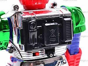 Робот, со звуковыми и световыми эффектами, 28035, детские игрушки