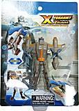 Робот-трансформер Able Star серо-золотой, 10951-3, фото
