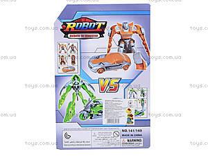 Игрушечный робот-трансформер в блистере, 141149, фото