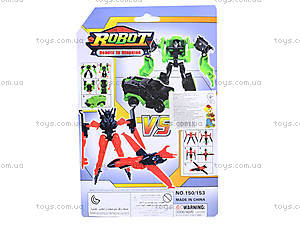 Робот-трансформер , игрушечный, 150153, фото
