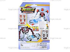 Робот-трансформер, для детей, 123134, фото